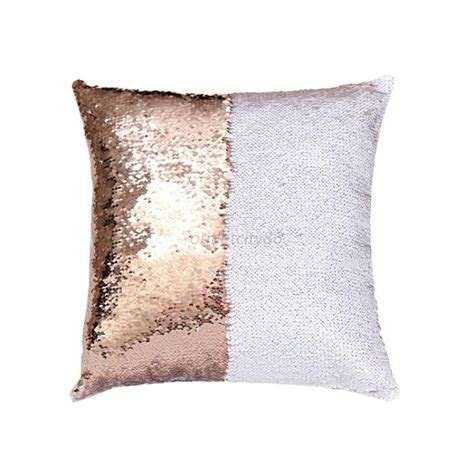 cushion covers throw pillow cases mermaid cover glitter