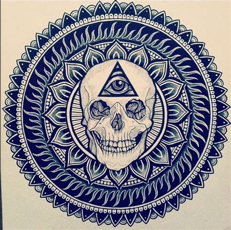tattoo mandala illuminati skull illuminati tattoos pinterest illuminati and skulls