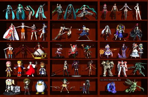 Figure Collection Fc One Absalom anime figure collection by nitehawk ltd on deviantart