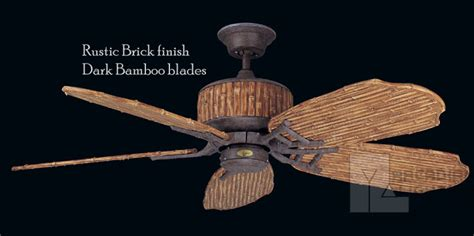 bamboo ceiling fans with lights concord fans 52bob5 52 quot bamboo breeze traditional outdoor