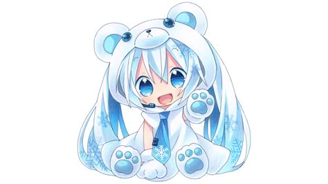 Hatsune Miku á ÿ Anime Nã O Chibi Hatsune Miku Full Hd Papel De Parede And Planos De