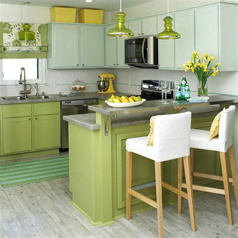 green kitchen design ideas cheerful summer interiors 50 green and yellow kitchen