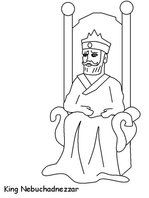 bible king coloring page free coloring pages of nebuchadnezzar dream