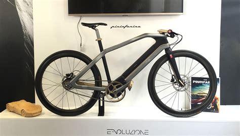 e voluzione pininfarina s electric bike extravaganzi