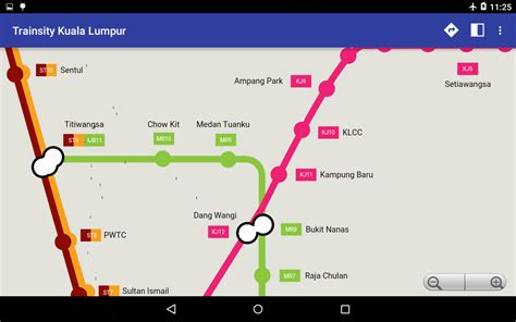 Ktm To Klcc Trainsity Kuala Lumpur Lrt Ktm Android Apps On Play