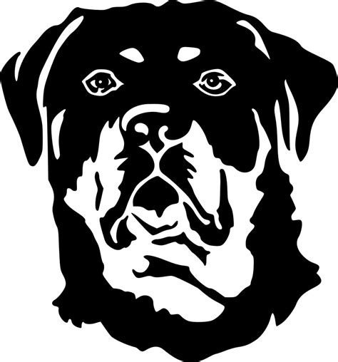 rottweiler stickers decals petfoodshop rottweiler kopf sticker