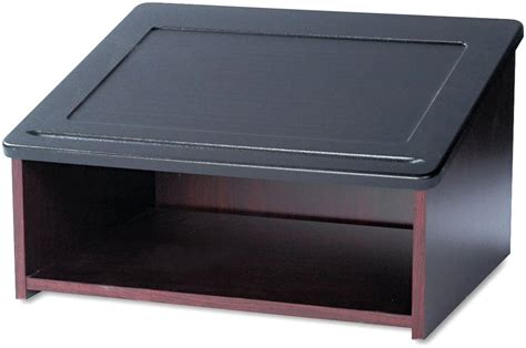 table top reading l table top lectern desktop podium with angled reading surface