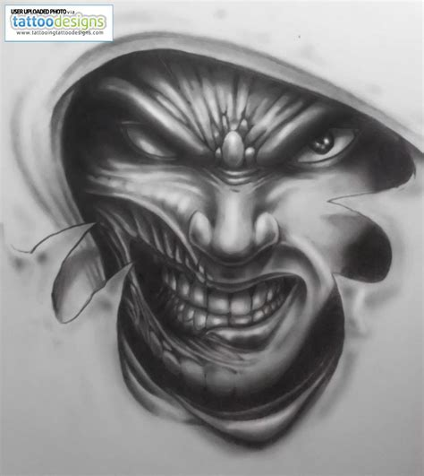 evil tattoo design 30 amazing evil designs