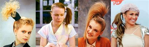 hairstyles of the 80s side ponytail hairstyles in the 1980s like totally 80s