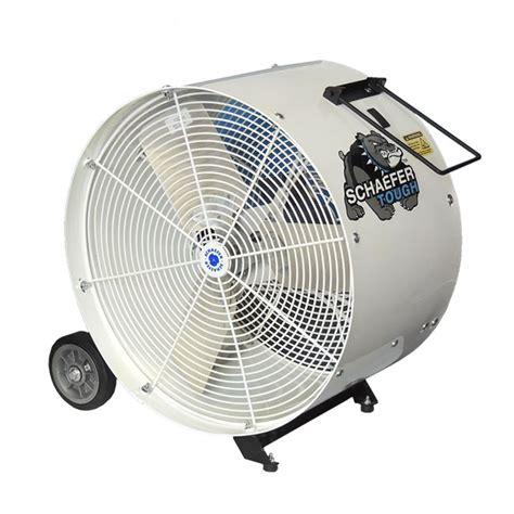 schaefer fans for sale schaefer ventilation relaunches the 24 quot mobile drum fan