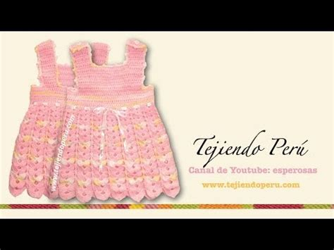 vestido de abanicos para ni 241 a parte 2 la falda vestido olanes para ni a crochet parte 1 de 3 crochet