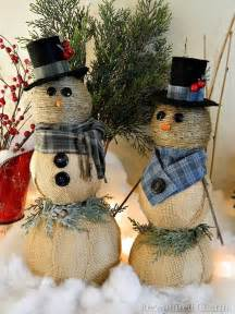 10 simple snowmen ideas for your holiday d 233 cor