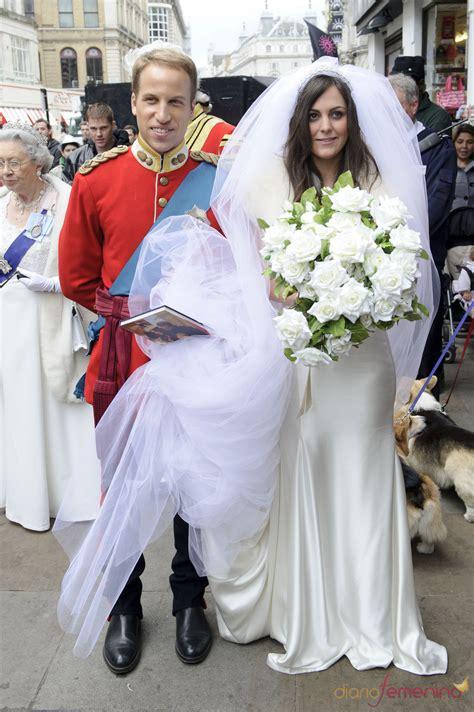 la boda de kate los dobles de guillermo de inglaterra y kate middleton fingen su boda