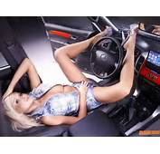 Car Picture  Sexy Girl With Wallpaper