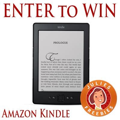 Amazon Kindle Giveaway - grt free stuff julie s freebies sles giveaways