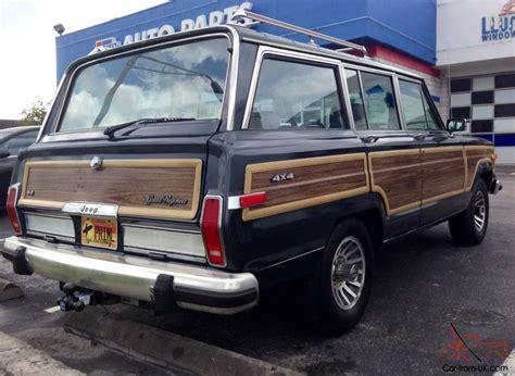 1989 jeep wagoneer 1989 jeep grand wagoneer woody addition 156 119 original