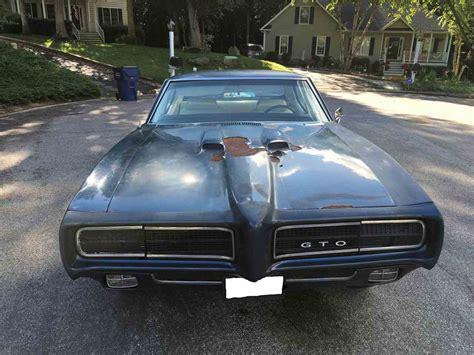 Pontiac Gto Sale by 1969 Pontiac Gto For Sale Classiccars Cc 920344