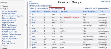 cara membuat vps di webmin cara mudah membuat user ssh pada vps melalui webmin