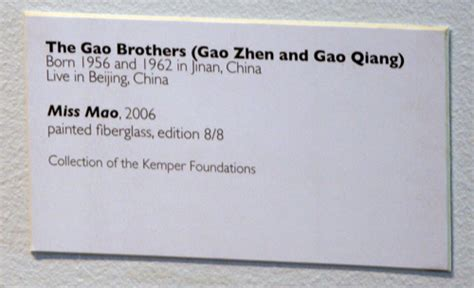 design a label guidelines on labelling for museums the gao brothers miss mao kemper museum label flickr