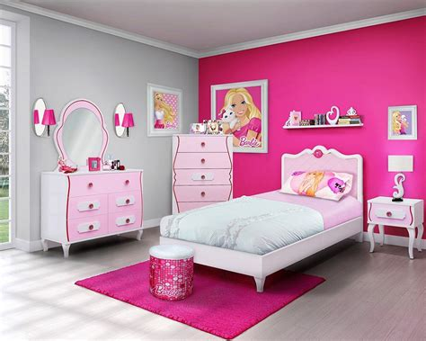 bedrooms for girls picture perfect girls barbie bedroom socialcafe magazine kids stuff decorating