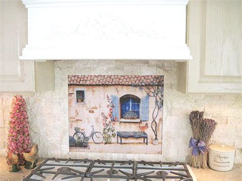 country wall murals country kitchen backsplash tiles wall murals