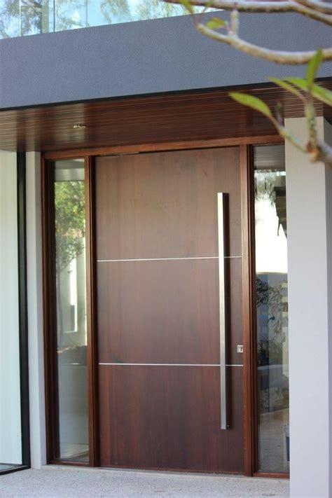 glass inlay front doors best 25 modern entrance door ideas on