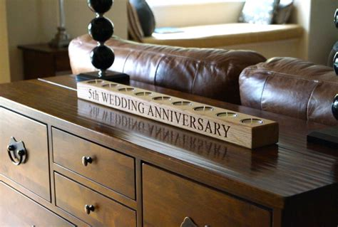 5th wedding anniversary wooden gift ideas makemesomethingspecial