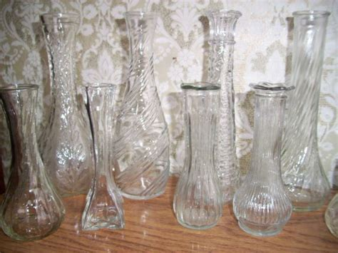 Retro Glass Vases by Vintage Glass Vase With Vases Sale