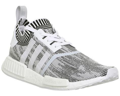 Adidas Nmd R1 Primeknite Black For adidas nmd r1 prime knit white white black his trainers