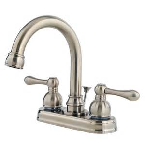Parts For Moen Kitchen Faucets Faucet Com F 048 Lhkk In Brushed Nickel By Pfister