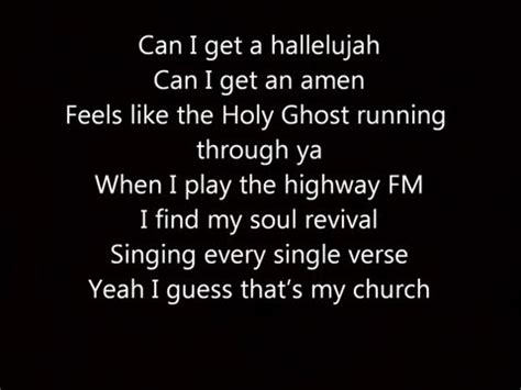 my lyrics http youtu be n4vu5yg63ta maren morris my church lyrics