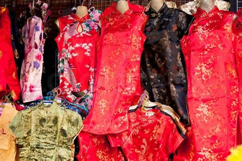 chinese new year clothes daily stock photo colourbox
