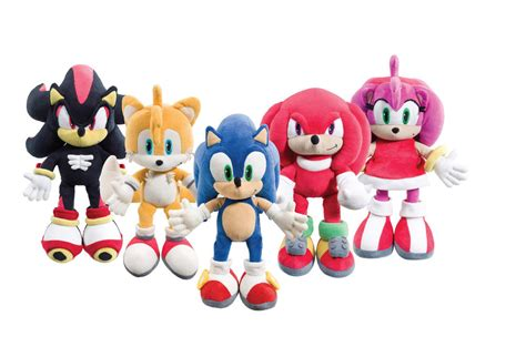 Gamis Teddy Fahrani 14 quot sonic the hedgehog plush soft knuckles tails