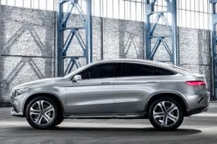 Mercedes Concept Coupç Suv Mercedes Concept Coupe Suv Side View Photo 13