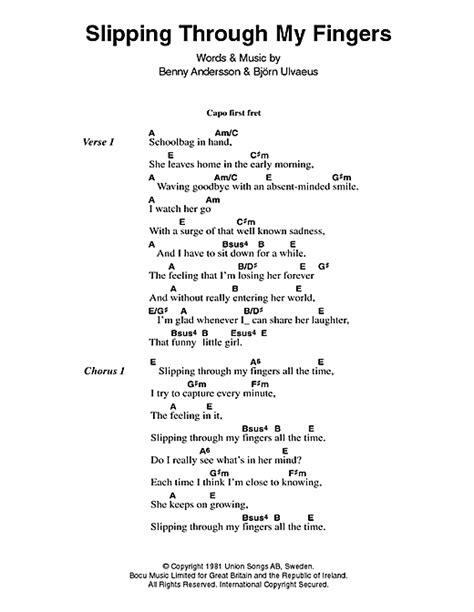 Chiquitita Guitar Chords