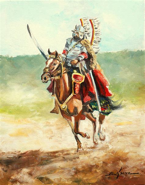 Home Decor Wallpaper Online by The Polish Winged Hussar Painting By Luke Karcz