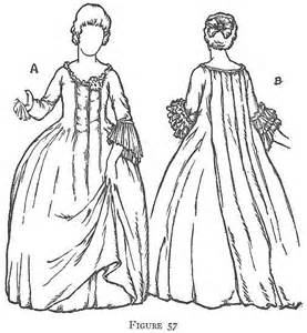 free coloring pages of colonial clothing