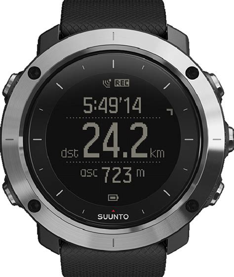 Suunto Traverse Black Original suunto traverse black outdooruhr gps h 214 henmesser