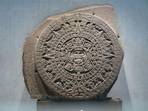 Calendario Azteca Y Piedra Sol Piedra Sol La Enciclopedia Libre
