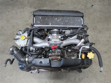 subaru impreza turbo engine jdm ej20 turbo subaru impreza wrx engine avcs obd2