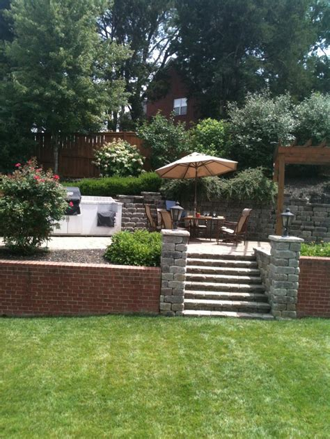 17 best images about sloped backyard ideas on