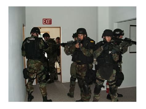 all white all washington state tactical officer