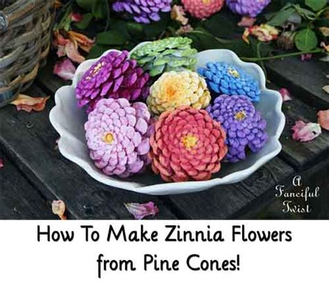 how to make pine cone flowers flower power pinterest 1000 images about craft ideas on pinterest altered