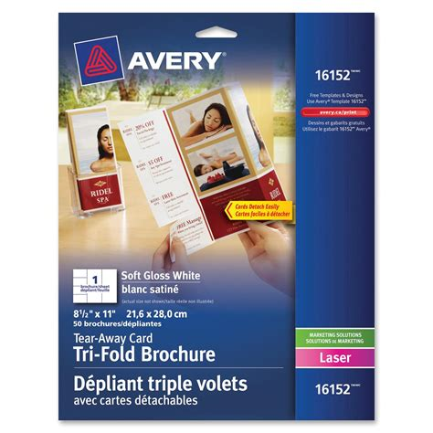 avery brochure template avery brochure flyer paper ld products