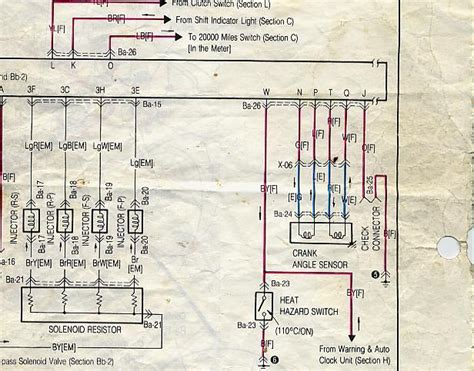 peugeot 206 coil pack wiring diagram instrument cluster