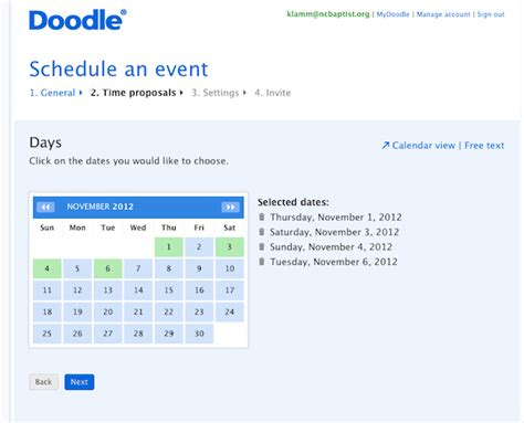 doodle poll yes no doodle a great app to find a time to meet renewing