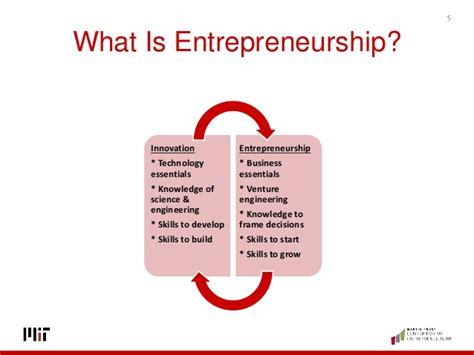 Mba In Management Of Technology Entrepreneurship And Innovation by What Is Entrepreneurship Innovation
