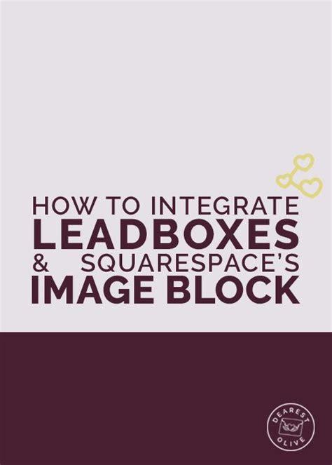 Squarespace Image Block