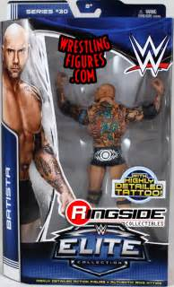 Wwe Toys Tables Batista Wwe Elite 30 Wwe Toy Wrestling Action Figure By