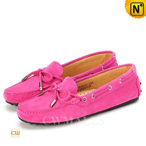 womens driving loafers womens leather loafers cw306022